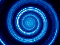 Time spiral. In deep space Stock Photo