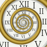 Time Spiral Royalty Free Stock Images