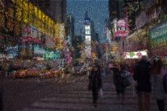 Time Square Lizenzfreie Stockbilder