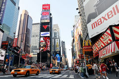 Time square. Times Square Traffic New York Stock Image