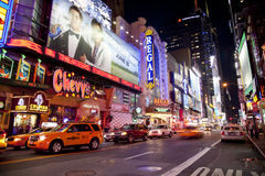 Time Square Royalty Free Stock Photos