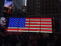 Time Square Foto de Stock Royalty Free
