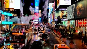 Time Square Fotografia de Stock Royalty Free