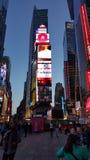Time Square Fotografía de archivo