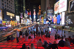 Time Square By Night Stock Images