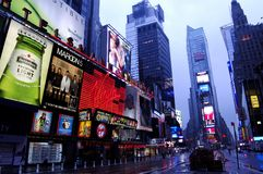 Time Square at dawn Royalty Free Stock Images