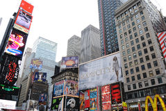 Time Square in Early Morning Royalty Free Stock Image