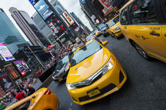 Time Square horizontal view Stock Photo