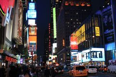 Time square III Stock Image
