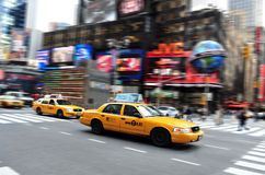 Time Square in Manhattan New York Stock Image