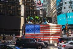 Time Square Memorial Day 2019 stockbilder