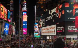 Time Square in New York stock photography