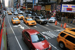 Time Square - New York royalty free stock photo