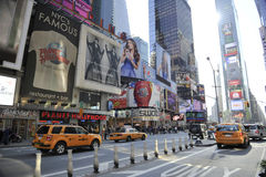 Time Square In new York city Royalty Free Stock Images