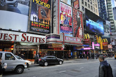 Time Square In new York city Stock Photography