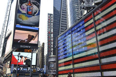 Time Square, new York city Stock Photos