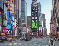 Time square New York City Stock Photo