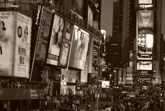 Time Square in New York City Stock Images