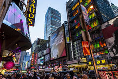 Time square night time Royalty Free Stock Photo