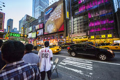 Time square night time Royalty Free Stock Photos