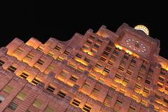 Time Square NY byggnad arkivfoto