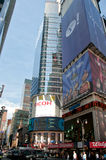 Time Square nyc. A  shot of times square Stock Images