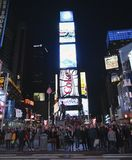 Time Square popularity Royalty Free Stock Photography