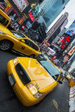 Time Square traffic Stock Photo