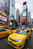 Time Square vertical view Stock Photography