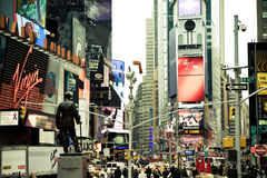 Time Squre, NYC Stock Images