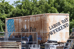 Time. State Fair & Labor Day Weekend Safety and Equipment Royalty Free Stock Photo