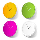 Time sticker Royalty Free Stock Photography