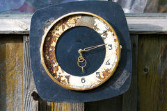 Time stopped. Very old non-working hours. Royalty Free Stock Photo