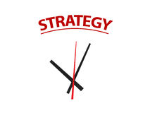 Time on Strategy Stock Image