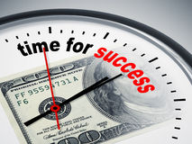 Time for success Stock Photography