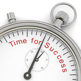 Time for Success Stock Image