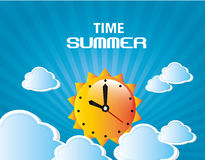 Time summer Royalty Free Stock Photos