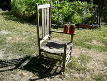 Time for Sun Tea. Missouri farmstead offers some good old sun tea Royalty Free Stock Photos