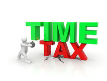 Time Tax bomb Royalty Free Stock Photography