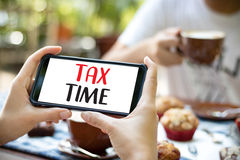 Time for Taxes Planning Money Financial Accounting Taxation Busi. Nessman Tax Economy Refund Money Stock Photo