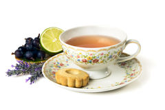 Time for tea. Cup of tea isolated on white background Stock Photo