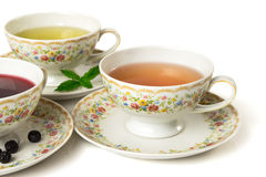 Time for tea. Cup of tea  on white background Royalty Free Stock Images