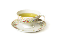 Time for tea. Cup of tea  on whitea background Stock Image