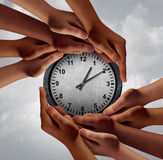Time Teamwork Concept Stock Images