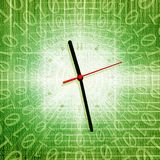 time and technology concept vector illustration