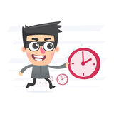 Time thief Royalty Free Stock Photography