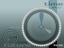 Time after time. Time concept with simple and stylish line stock illustration