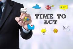 TIME TO ACT Stock Photos
