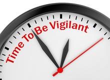 Free Time To Be Vigilant Stock Photos - 84832783
