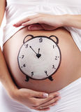Time to birth Royalty Free Stock Images